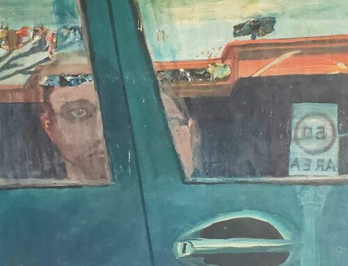 TME #33: 'Self-portrait on Marion Street', Bernard Cohen